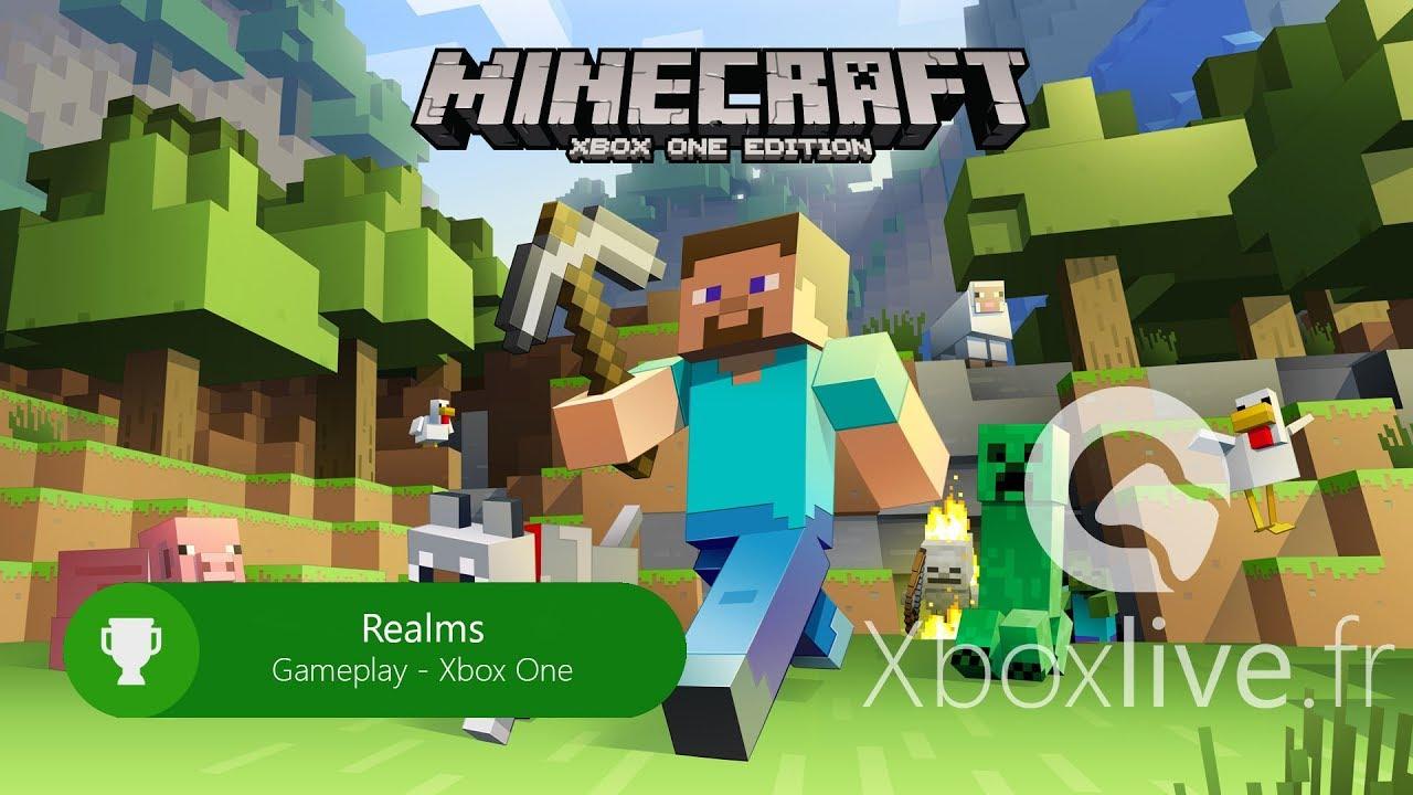 Minecraft Realms on Xbox One