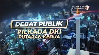 Video LIVE! Debat Pilkada DKI Jakarta putaran kedua. 12 April 2017 download MP3, 3GP, MP4, WEBM, AVI, FLV Agustus 2017