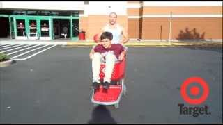 Andy and Mike love shopping at Target!