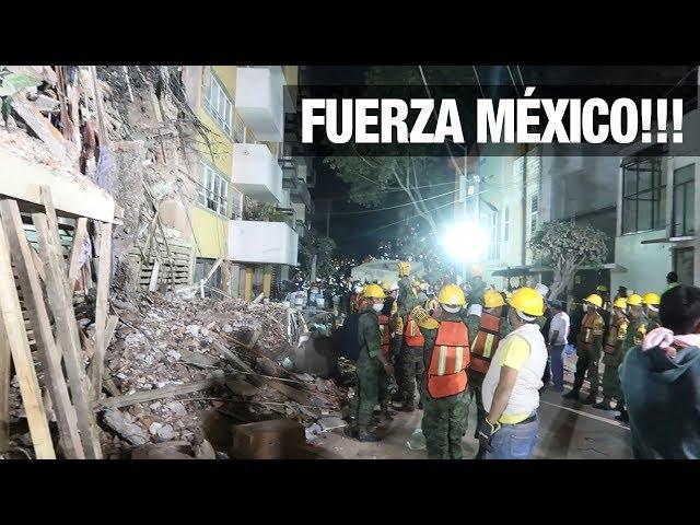 TERREMOTO EN MÉXICO (19 / SEPTIEMBRE / 2017) | JUCA