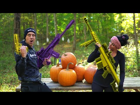 How We Carve Pumpkins!! Fortnite Style