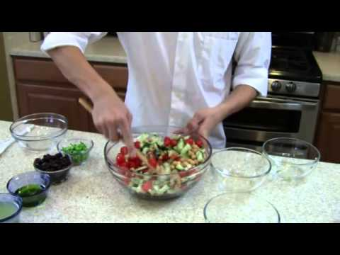 Cucumber, Tomato And Feta Cheese Salad - Cooking With Tristan Episode 124