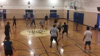 Indoor Volleyball at Ocean Beach Recreation Center