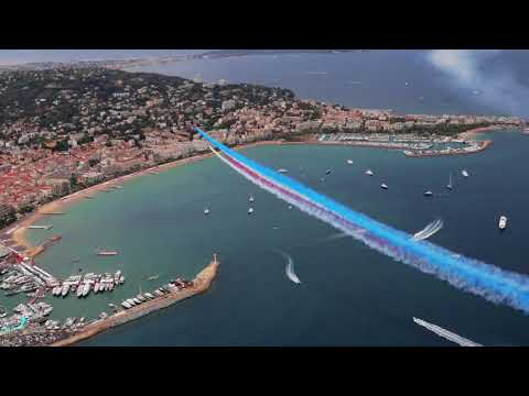 Royal Air Force Red Arrows - Cannes Yachting Festival 2017