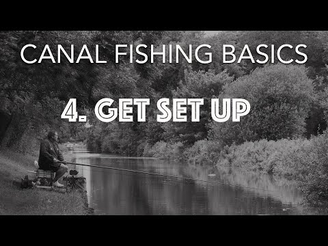 Get Set Up For Canal Fishing