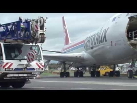 Glasgow Prestwick Handles Specialist Cargolux Cargo