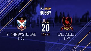 St Andrew's College 1st XV vs Dale College 1st XV, 20 July 2019