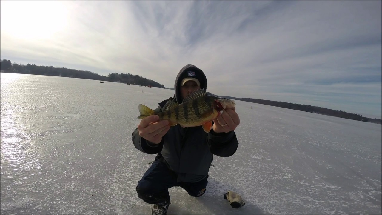 Black lake ice fishing jan 2017 youtube for Ice fishing 2017