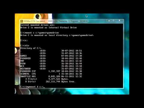 DOSBox CDROM Tutorial: Creating, Mounting & Playing A DOS CD-ROM Game