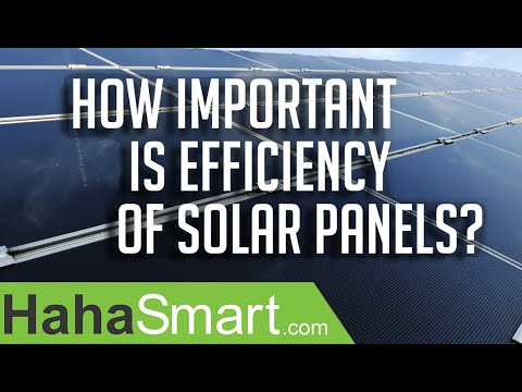 how-important-is-efficiency-of-solar-panels?