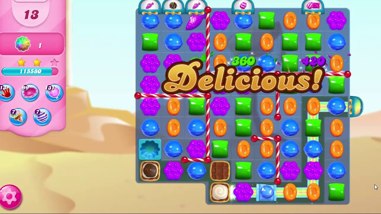 Download Candy Crush Saga LEVEL 7175 NO BOOSTERS
