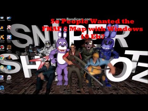 TUTORIAL: How To Get The GMOD FNAF 2 Map No Events. WIthout Gmod or Gmad Extractor