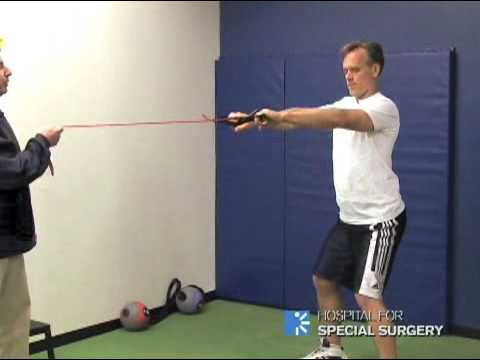 Golf Pre-Season Training Part 2: Upper Body – Hospital for Special Surgery