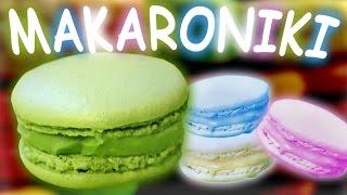 Kolorowe Makaroniki - Najlepszy, Sprawdzony Przepis ( Jak zrobić? ) [KR]