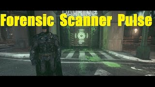 Batman Arkham Knight - How to use Forensic Scanner on Riddler