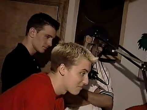Be Your Dream   IN-STUDIO With NSync, FOOTAGE From 2000