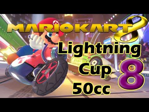 Mario Kart 8 Walkthrough Part 8 - 50cc LIghtning Cup (No Commentary) 1080p