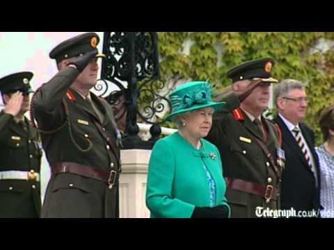 The Queen's visit to Ireland: day one highlights of historic tour