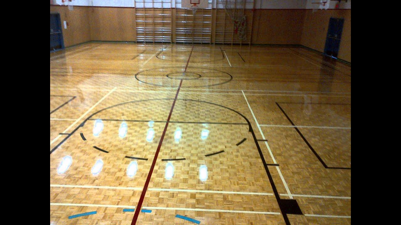 Ahf Wood Floor Vct Composite Gymnasium Floor Basketball
