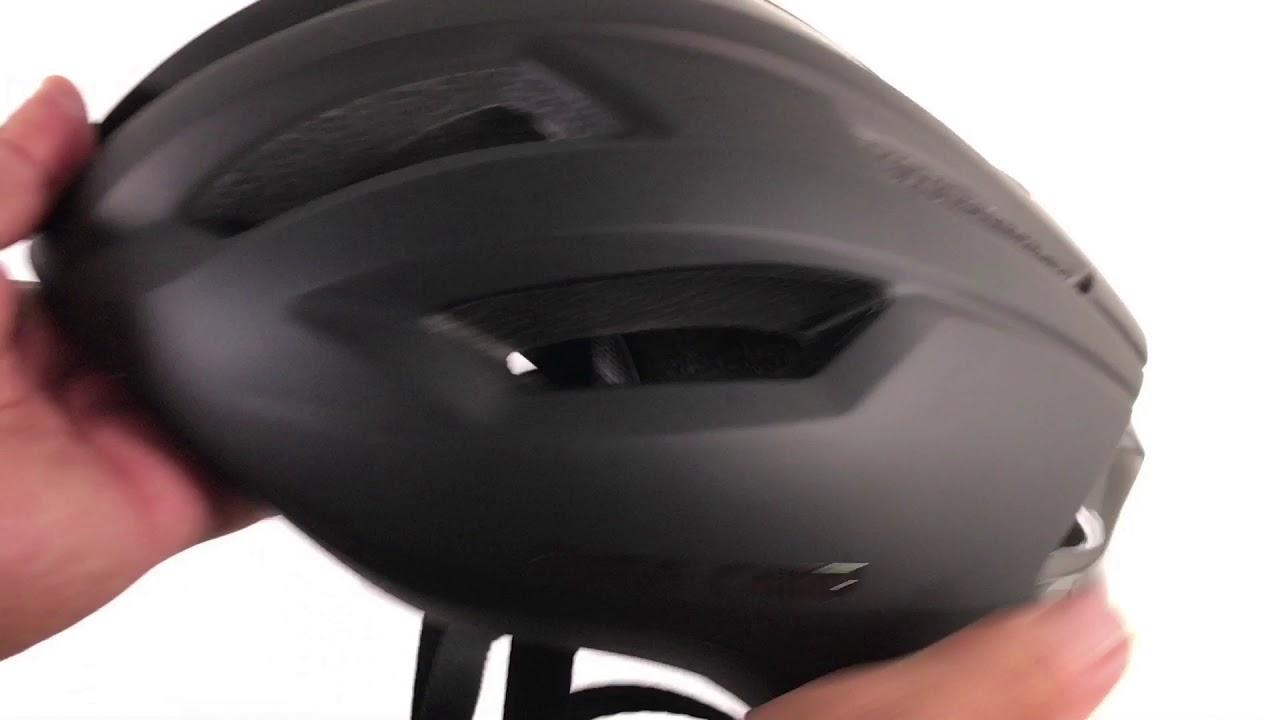 Basecamp Ace Road Bike Aero Helmet Youtube
