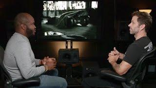 Zack Snyder about BATMOBILE «Batman v Superman» [+SUBTITLES]