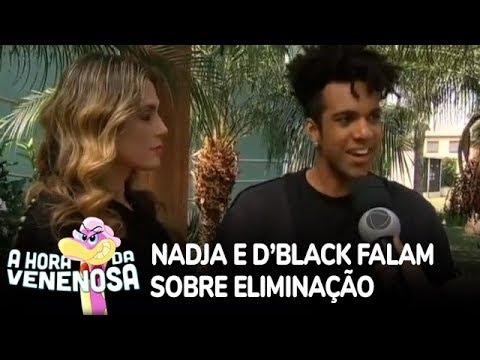 D'Black e Nadja falam sobre a saída do Power Couple
