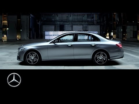 Mercedes-Benz E-Class 2016: Feature drive presentation of th