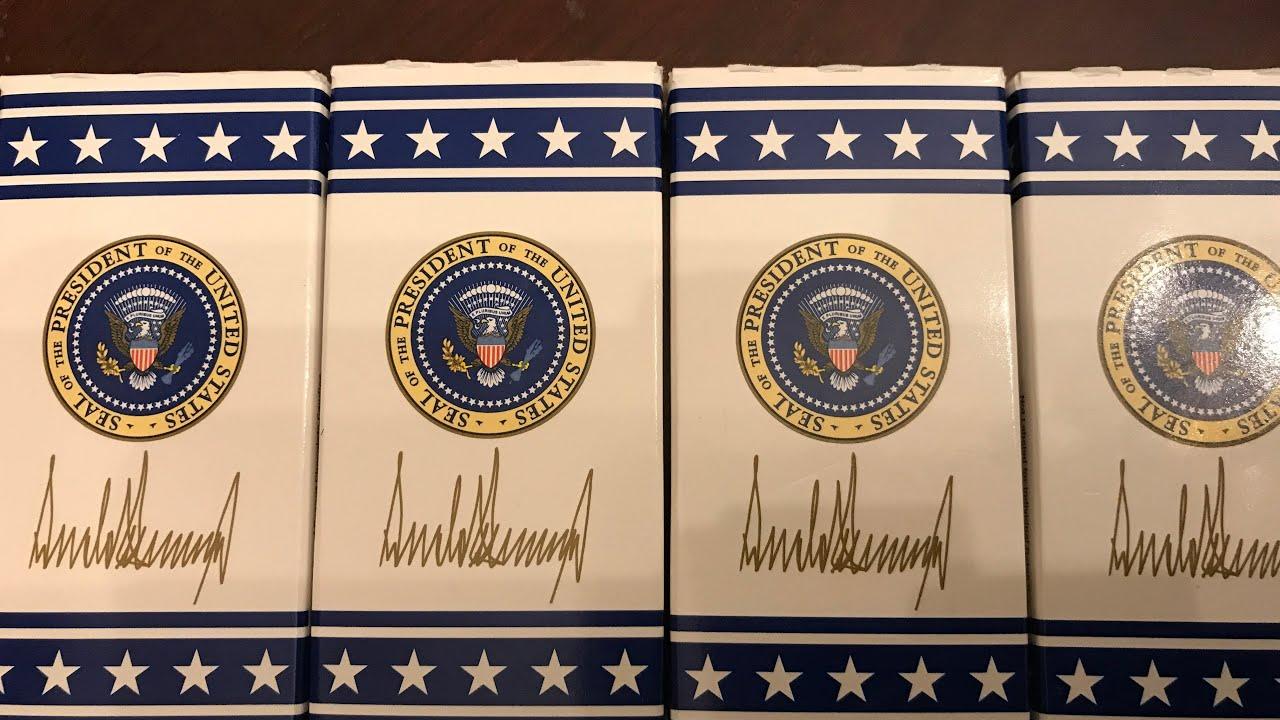 4-7/ Bất ngờ & Vui...được Văn Phòng Tổng Thống Donald Trump tặng quà...nhân ngày Quốc Khánh Hoa Kỳ