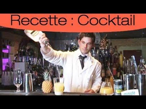 Cocktail : Réaliser une Pina colada