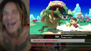 KA NINJAS REACTION TO K ROOL SMASH ULTIMATE REVEAL
