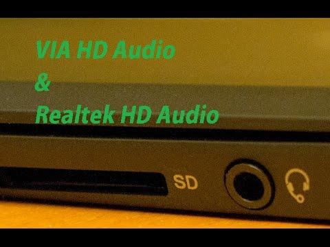 Настраиваем звук при помощи VIA HD Audio Deck (Убрал дикий шум микрофона)