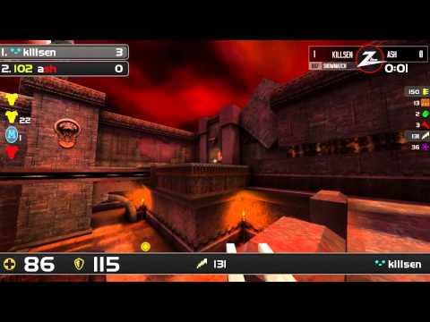 125 FPS Showmatch - K1llsen vs Ash (Part 1)
