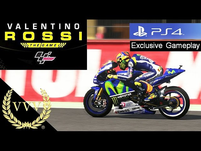 Valentino Rossi The Game Developer Interview and PS4 Gameplay