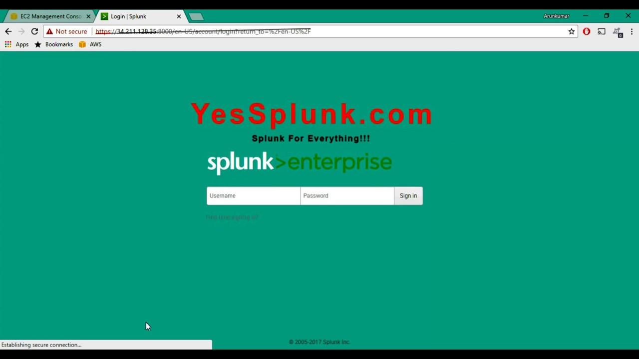 Splunk Tutorials : Custom Logo Change
