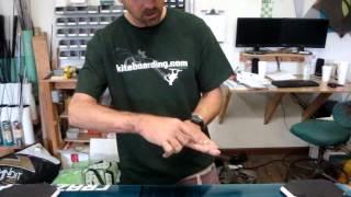 Kiteboarding: Twintip Stance Width and Angle