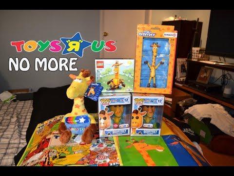 TOYS R US CLOSING and GEOFFREY the GIRAFFE COLLECTION! Funko, Schleich, Lego, Plush, etc