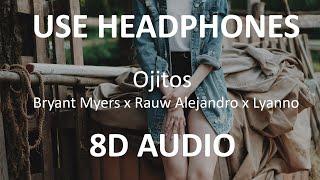 Bryant Myers x Rauw Alejandro x Lyanno – Ojitos ( 8D Audio ) 🎧.mp3
