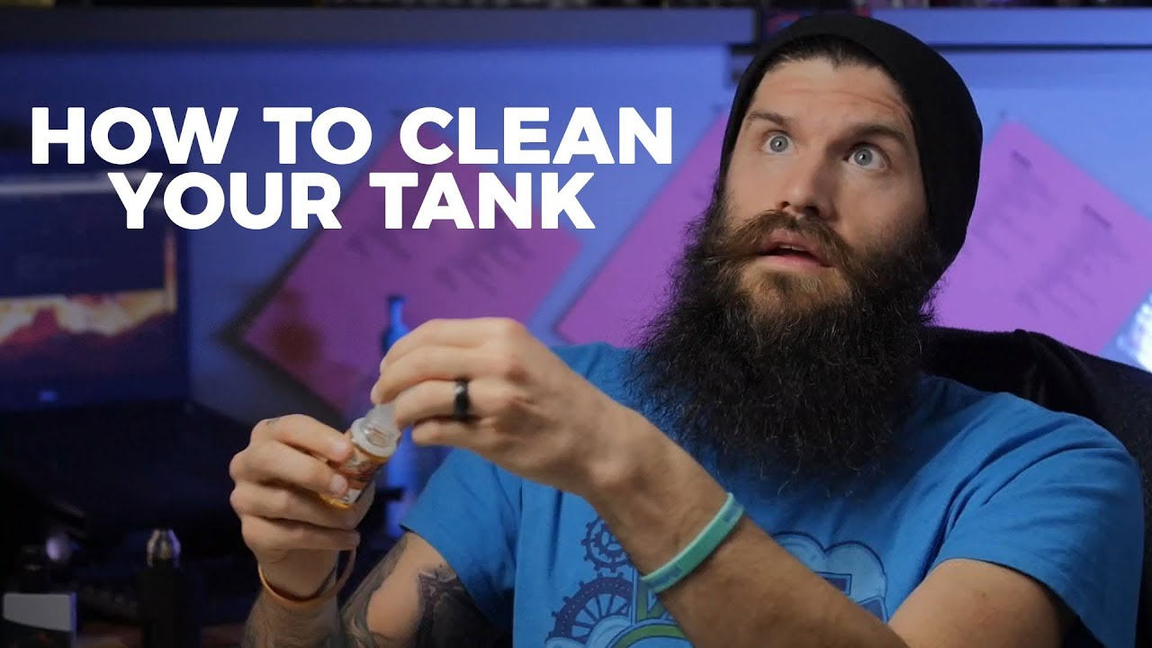 SAVE $$$: How to CLEAN Vape Tank, Vape Coils & Mod! Easy