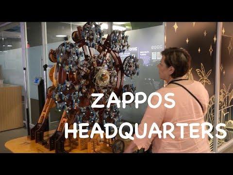 Holiday | Zappos Headquarters Tour | Las Vegas, NV