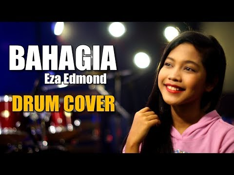 BAHAGIA - EZA EDMOND - Drum Cover by Nur Amira Syahira
