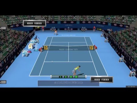 Australian Open 2016 - Roger Federer Vs Roger Federer?! - On
