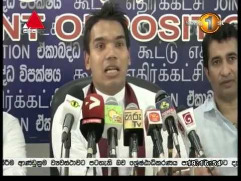 Namal Rajapaksa & Mahinda Amaraweera Expressed Views on May Rally