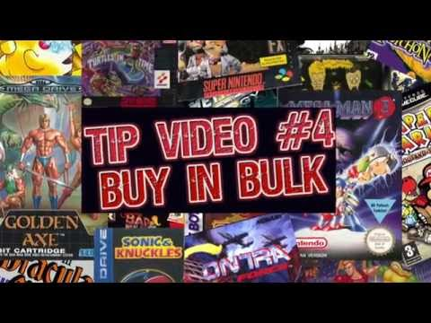 Retro Video Game Collecting Tip #4: Buy in Bulk