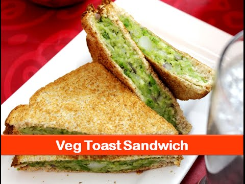 Vegetarian Sandwich Recipe Healthy Evening Snacks Indian Breakfast