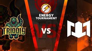 TRIODIS VS LEM E-Sports   - 1/4 Energy Tournament  3- Season / standoff 2