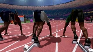 100m and 100m Hurdles  - London 2012 Olympics Gameplay