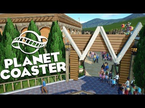 Planet Coaster Alpha 2 Gameplay - Western World! - Let