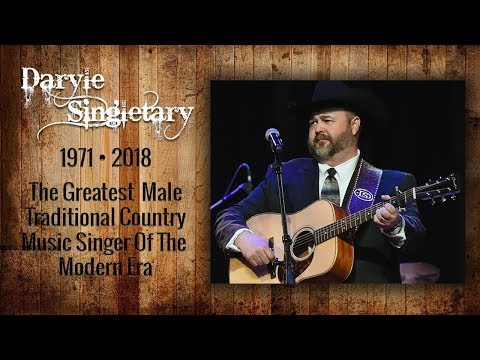 Daryle Singletary | Tribute To A Country Music Legend