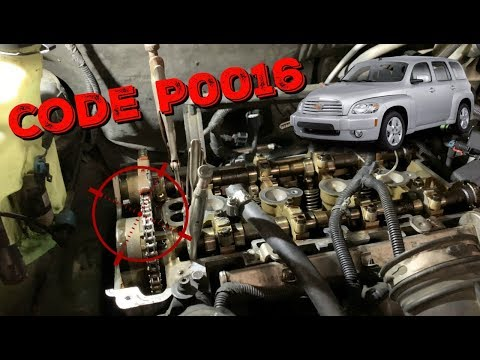 "Chevy HHR Code P0016 - ""Camshaft Position Correlation Code"""
