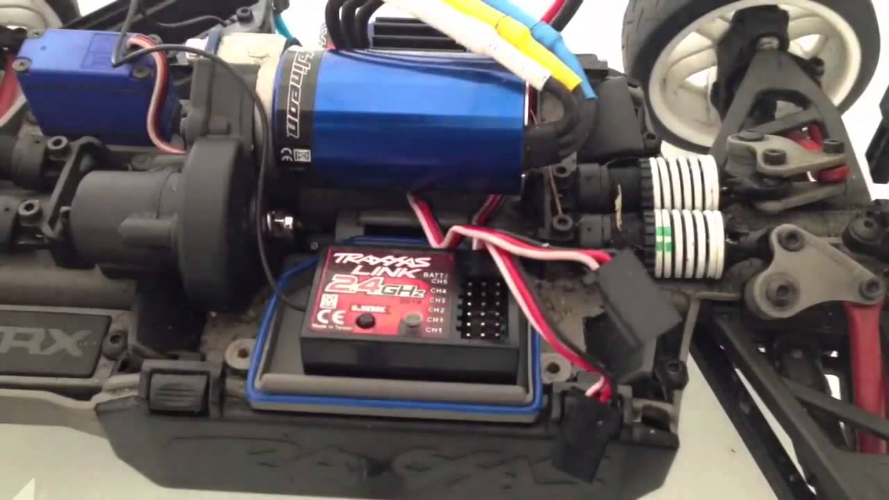 maxresdefault how to connect rc lights to the receiver (traxxas slash, e revo traxxas tq receiver wiring diagram at alyssarenee.co